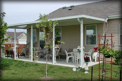 aluminum awnings  decks  patio lowes metal patios ideas homes residential steel posts  rv