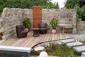 Steinmauer Garten Bilder : garten und schwimmteich galerie rieper silbernagl gartengestaltung und schwimmteiche in ~ Bigdaddyawards.com Haus und Dekorationen