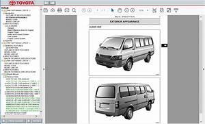 Toyota Hiace Repair Manual