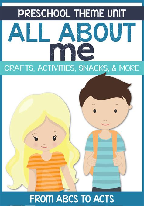 all about me preschool theme from abcs to acts