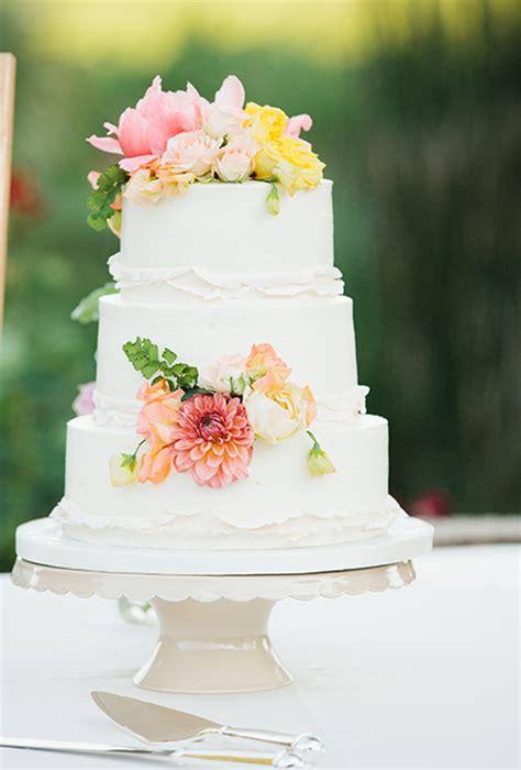 Summer Wedding Cake Ideas White Wedding Cakes Wedding