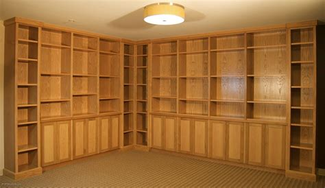 Bookcases And Cabinets by Custom White Oak Cabinets And Bookcases By Sjk Woodcraft