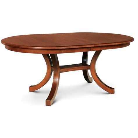 loft ii oval dining table creative classics