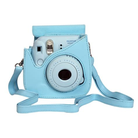 housse instax mini 8 bleu accessoires instax mini boutique fujifilm