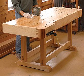 workbench plans  projects  woodworkers