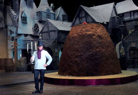 heston blumenthals giant christmas pudding