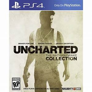 PS4 game UNCHARTED: The Nathan Drake Collection, 711719866930