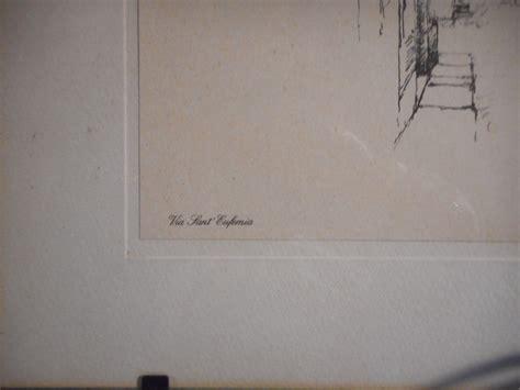 Cornice A Vista by Vecchia Acquaforte Di Dante Spelta Quot Via Sant Eufemia