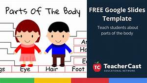 Learn About Body Parts Using This Great Google Slides Template