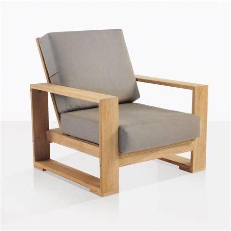 havana outdoor club chair patio lounge teak furniture