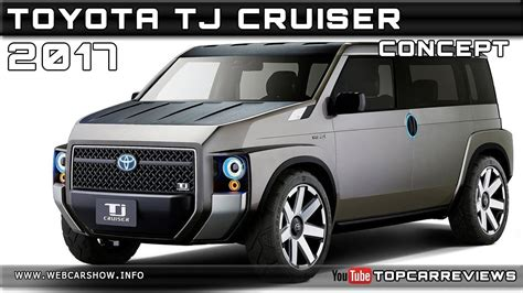 toyota tj cruiser concept review rendered price specs