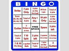 Bowling BINGO, Beer, Prize and one hell of a good time
