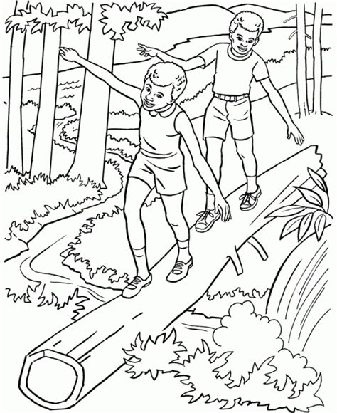 coloring pages  adults nature coloring home