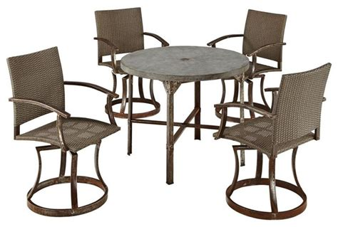 outdoor high dining table contemporary outdoor