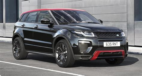 range rover evoque ember special edition unveiled