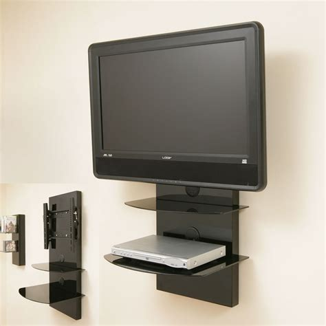 Wall Mount With Shelf by 50 Best Ideas Wall Mounted Tv Stands With Shelves Tv