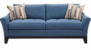 blue sleeper sofa provincetown sky sofa sofas blue thesofa With blue pull out sofa bed