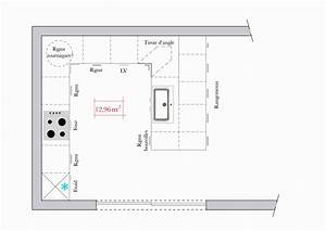 plans de cuisines ouvertes open plan kitchen diner With plans de cuisines ouvertes