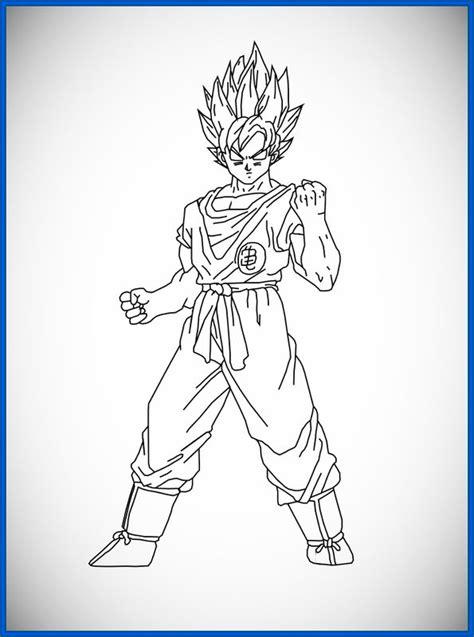 Dibujos De Dragon Ball Z Goku Ssj4 Archivos Dibujos De