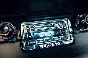 1965 Shelby Prototype Ford Mustang Radio Photograph by Jill Reger