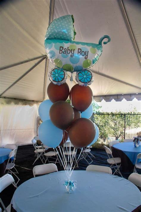 brown and baby blue baby shower decorations light blue brown monkey baby shower ideas monkey