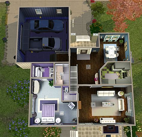 4 bedroom 3 bath house for my sims 3 4 bedroom 3 bath house by chellemh29