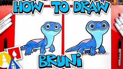 Frozen Fire Bruni Spirit Draw Salamander