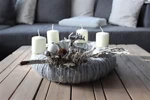 Künstlicher Adventskranz Dekoriert : aw84 adventskranz aus wolle dekoriert mit nat rlichen ~ Michelbontemps.com Haus und Dekorationen