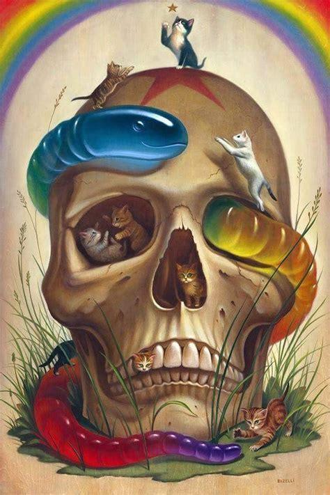 surreal skull art skull artwork art skeleton art