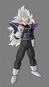 Kaddish, brother of Vegeta V3 by alessandelpho on DeviantArt