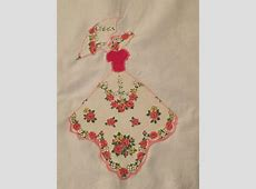 Deerecountry Quilts Pattern for Sunbonnet Sue Hankie