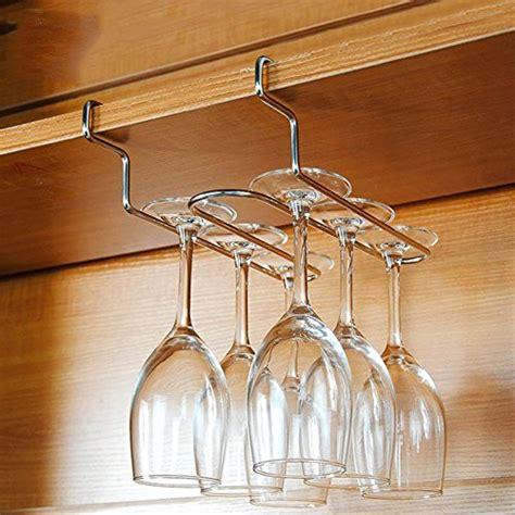 appendi bicchieri aevel rastrelliera premium per bicchieri in acciaio