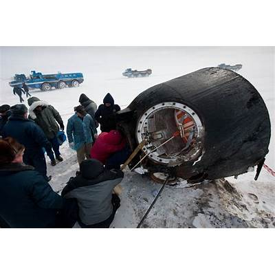 Soyuz Spacecraft Landing - Pics about space