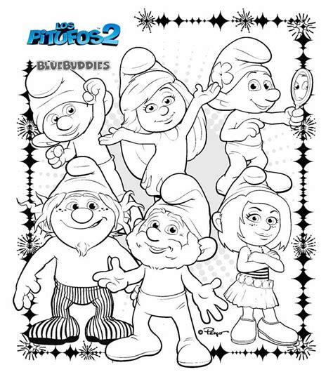 Dibujos Para Colorear Imprimir Dibujos De Los Pitufos Para Colorear Pitufos Imprimir Gratis