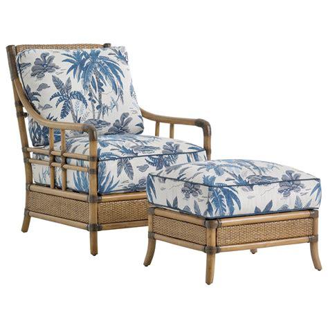 bahama home palms seagate rattan chair and