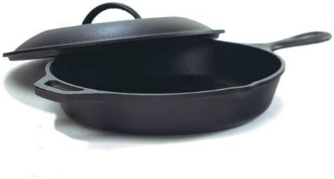 lodge seasoned cast iron skillet  cast iron lid inchcast iron frying pan  lid set