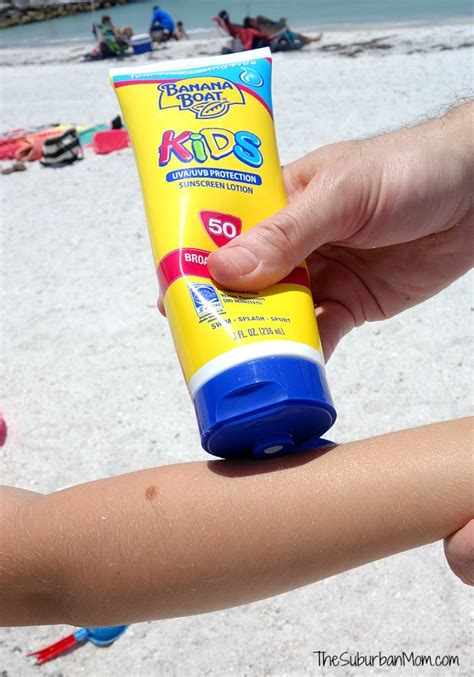 Banana Boat Sunscreen For Swimming by Summer At The And Toddler Essentials