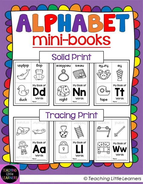 alphabet books mini books student and minis 914 | 39e0aa102bad0d2e374f55a2d05e2bc7