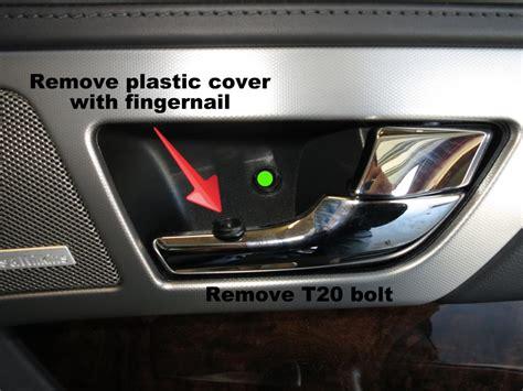How To Remove Xf / Xfr Door Card Panel / Fix Door Rattles