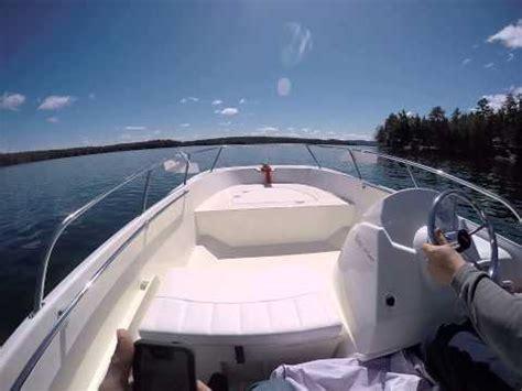 Monterey Boats Vs Bayliner by 17ss Whaler Vs 23 Monterey Bowrider Doovi