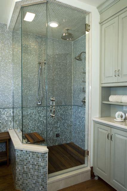 16 Fancy Bathroom Combined Flooring Ideas