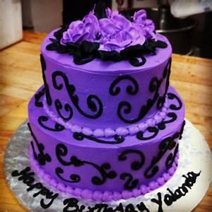 17 Best ideas about Purple Birthday Cakes on Pinterest ...
