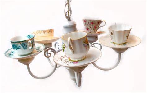 recycling tea cups  tea pots  creative home decorating ideas