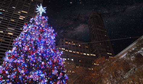 christmas shopping  york  usareisende die