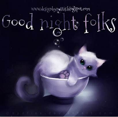 Night Goodnight Say Folks Animated Its Tomorrow