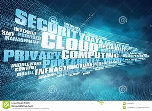 Cloud Computing Background Stock Illustration  Illustration Of Global