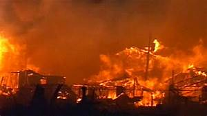 Breezy Point Beachfront Burns in Floodwaters - NBC New York