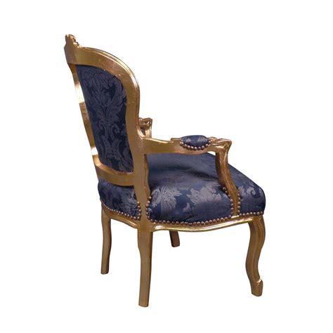 fauteuil louis xv bleu rococo meuble et canap 233 baroque