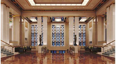 Architecture Decoration by Deco Hotel Lobby 3d Library 3d Interior