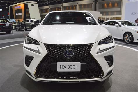 2018 Lexus Nx 300h Fsport Front At 2017 Thai Motor Expo